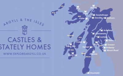 Castles of Argyll & The Isles map – Argyll & the Isles