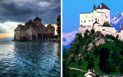Top 10 most amazing castles in Switzerland
