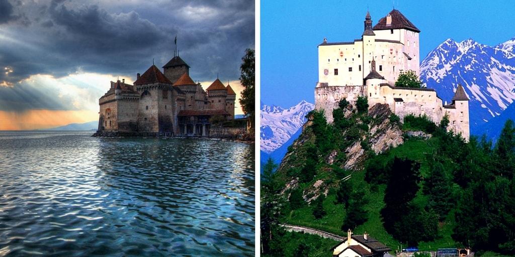 Top 10 most amazing castles in Switzerland