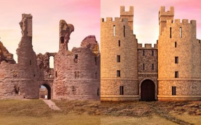 Here's what 6 abandoned UK castles looked like in their prime
