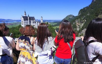 Neuschwanstein Castle is top, again