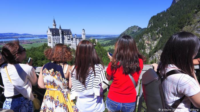 Neuschwanstein Castle is top