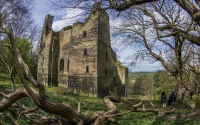 The secret castles hidden away on the Harewood estate in Yorkshire